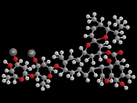 Аверсектин С - Трехмерная модель молекулы